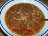 Italian Lentil and Barley Soup