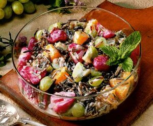 Creamy Rice-Fruit Salad