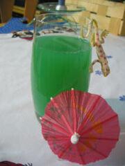 Cocktail green spirit