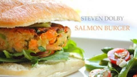 How to Make the Salmon Burger