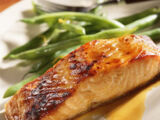 Apricot Lime-glazed Salmon