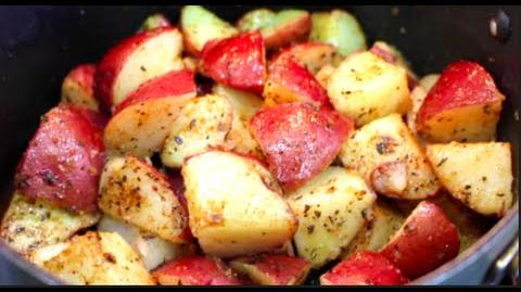 How to Cook Red Fried Potatoes