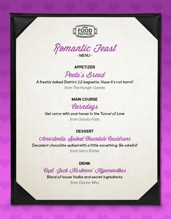 FF Romantic Menu