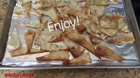 How to Make Toasted Pita Chips
