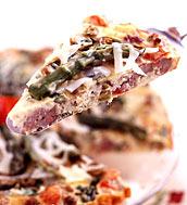 Italian picnic tart