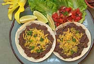 Black Bean Tortilla Melt