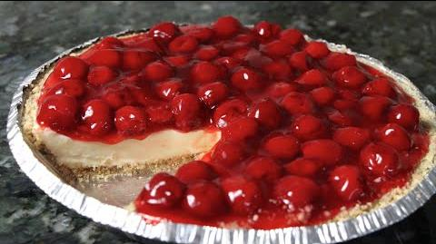 How to Make the Cherry Cheesecake