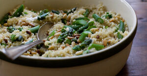 Tabasco quinoa recipe