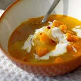 Gulerod og Appelsinsuppe