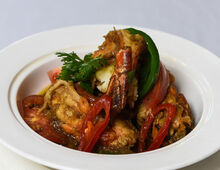 Prawn Curry - Chatrium Hotel Royal Lake Yangon (Emporia Restaurant) - Prawn Curry