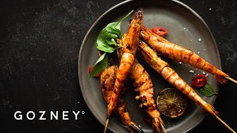 How to Make the Chili Prawn Skewers