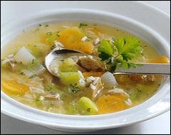 Icelandic lamb soup