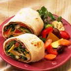 Cheesy Roast Beef Wraps