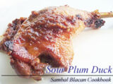 Sour Plum Grilled Duck