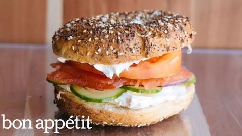 How to Make the Bagel Sandwich