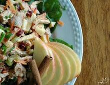 Autumn Turkey Salad