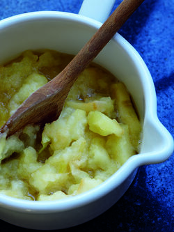 Stewed Bramley Apples image