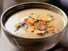 Lemon and almond soup
