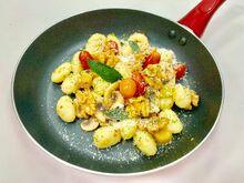 Gnocchi, mushroom, sundried tomato, walnut pesto-3-