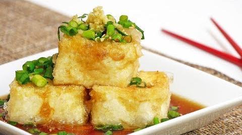 How to Make the Agedashi Tofu