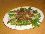Herb Salad with Chicken Liver