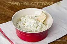 Artichoke-Chili Dip