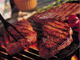 Sazon grilled steaks