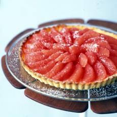 Grapefruit tart