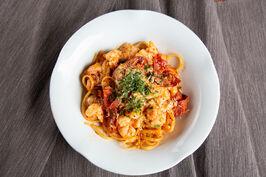 Prawn & Chorizo Pasta edited