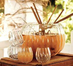 Beautiful-pumpkin-punch-bowl