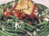 Fasolakia Salata me Tono