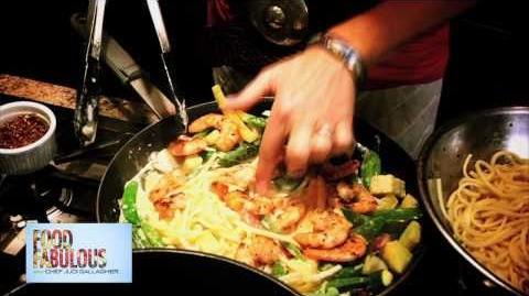 Food Fabulous Shrimp Pasta Primavera
