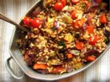 Israeli Couscous with Vegetables
