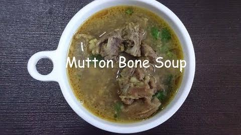 Mutton Broth