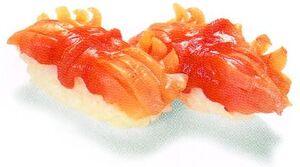 Akagai sushi