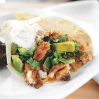 Blackened Catfish Taco