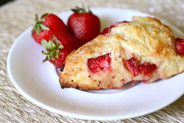 StrawberryScones