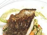 Miso-seared Chilean Seabass