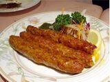 Homemade Seekh Kebab