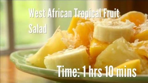 How to Make the African Tropical Fruit Salad