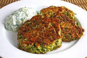 Greek Zucchini Fritters 500