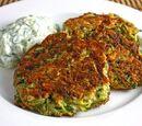 Greek-style Zucchini Fritters