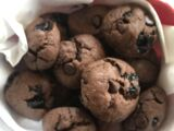 Chocolate Cherry Cola Cookies
