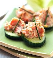Atkins salmon rillettes appetizers