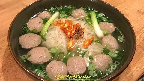 How to Make Vietnamese Beef Balls