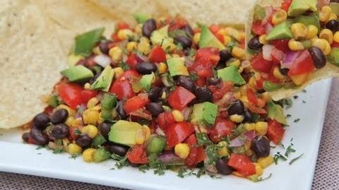 Easy Black Bean Corn Salad