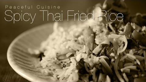 How to Make Spicy Thai Rice
