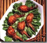 V stuff chicken wings