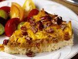 Caramelized Onion, Smoked Gouda and Pecan Rice Tart