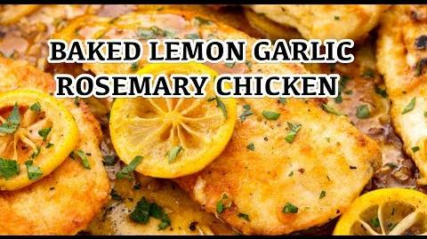 How to Make the Baked Lemon Chicken